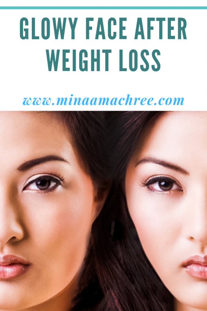 How to Maintain a Glowy Face After Weight Loss