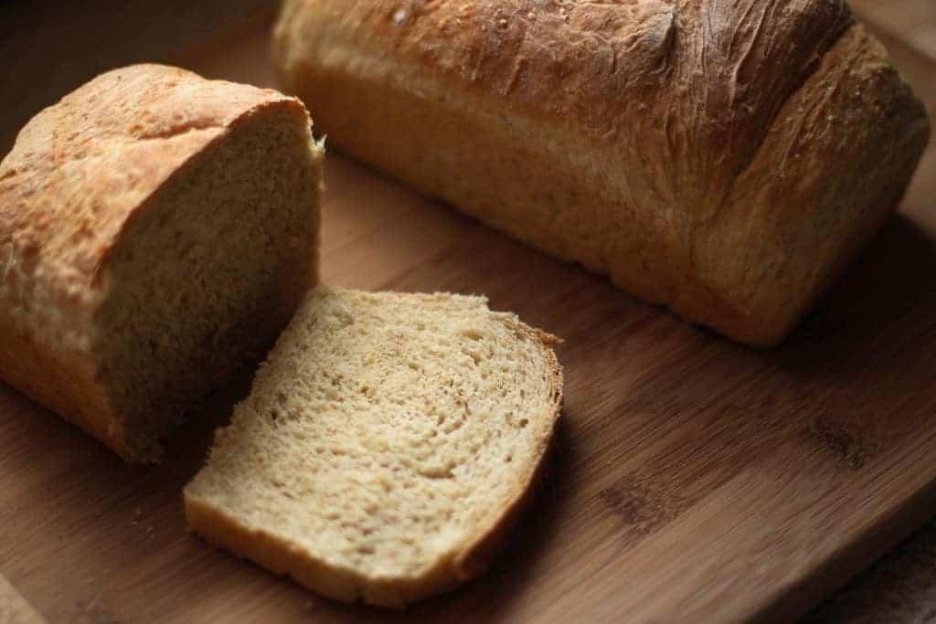 Whole Grain Sourdough Bread